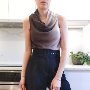 Sarah Pacini silk top
